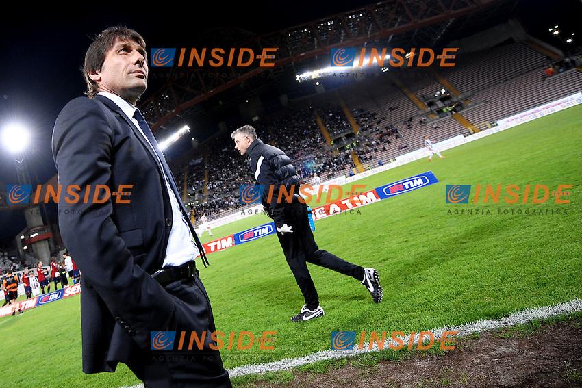 "Juventus Campione d'Italia.Antonio Conte.Trieste 06/05/2012 Stadio ""Nereo Rocco"".Football Calcio 2011/2012 Serie A.Cagliari Vs Juventus.Foto Insidefoto Andrea Staccioli"