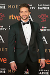 Pablo Albertan attends 30th Goya Awards red carpet in Madrid, Spain. February 06, 2016. (ALTERPHOTOS/Victor Blanco)