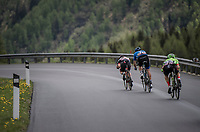 race leaders speeding along<br /> <br /> Stage 17: Tirano › Canaze (219km)<br /> 100th Giro d'Italia 2017