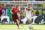 Nani (POR), Philipp Lahm (GER), JUNE 16, 2014 - Football / Soccer : FIFA World Cup Brazil 2014 Group G match between Germany 4-0 Portugal at Arena Fonte Nova in Salvador, Brazil. (Photo by Maurizio Borsari/AFLO)