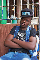 Cool Dude in Dambwa Central Market, Livingstone, Zambia