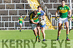 KerryAdriian Splliane sprints away from Karl O'Connell Monaghan  during their NFL clash in Fitzgerald Stadium on Sunday