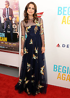 "New York Premiere Of The Weinstein Company's ""Begin Again"""