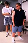 Carnegie International Weight Loss Centre for fat overweight children Leeds England.