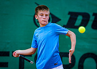 Hilversum, Netherlands, Juli 29, 2019, Tulip Tennis center, National Junior Tennis Championships 12 and 14 years, NJK, Manvydas Balclunas (NED)<br /> Photo: Tennisimages/Henk Koster