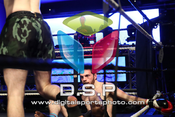 Ollie Southern VS Ryan Neilson - 60kg English Pro K1 Title Fight. During Fast and Furious Fight Series 16 Photo by: Stephen Smith<br /> <br /> Saturday 22nd October 2016 - Oceana, Southampton, Hampshire, United Kingdom.