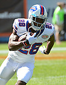 Buffalo Bills CJ Spiller (28) during a game against the Chicago Bears on September 7, 2014 at Soldier Field in Chicago, IL. The Bills beat the Bears 23-20.