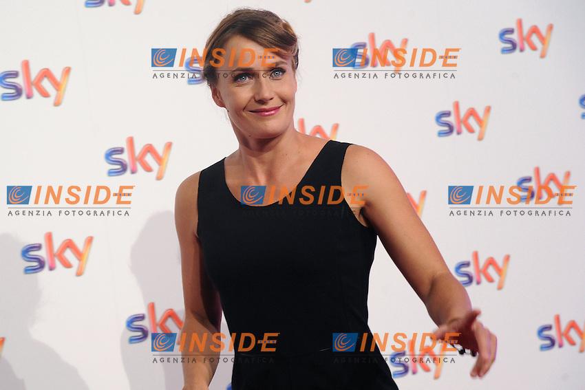 Lucia Mascino <br /> Milano 10/09/2014 Sky Tv / Fox Italy - 2014/2015 season presentation  <br /> foto Andrea Ninni/Image/Insidefoto