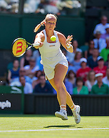 England, London, June 30, 2015, Tennis, Wimbledon, Kiki Bertens (NED) <br /> Photo: Tennisimages/Henk Koster