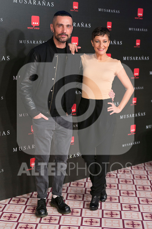 "David Delfin and Eva Hache attend the Premiere of the movie ""Musaranas"" in Madrid, Spain. December 17, 2014. (ALTERPHOTOS/Carlos Dafonte)"