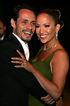 3/5/06,Los Angeles,California --- Marc Anthony and Jennifer Lopez(R) arrive at the Vanity Fair Academy Awards(r) party at Mortons restaurant. --- Chris Farina
