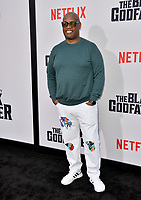 "LOS ANGELES, USA. June 04, 2019: Andre Harrell at the premiere for ""The Black Godfather"" at Paramount Theatre.<br /> Picture: Paul Smith/Featureflash"
