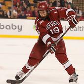 Jake Horton (Harvard - 19) - The Harvard University Crimson defeated the Boston University Terriers 6-3 (EN) to win the 2017 Beanpot on Monday, February 13, 2017, at TD Garden in Boston, Massachusetts.