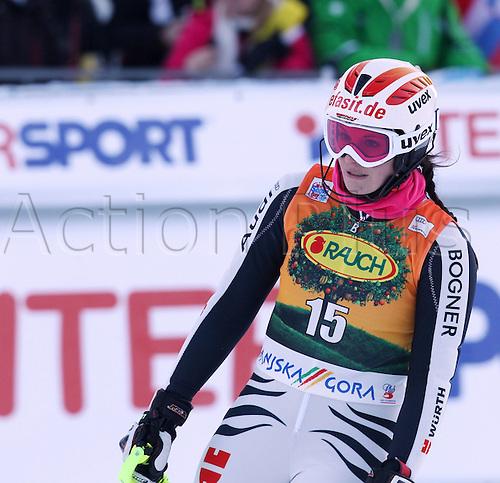 22 01 2012  Ski Alpine FIS WC Kranjska Gora Slalom women  World Cup Slalom for women Picture shows Christina Geiger ger