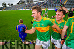 Paul O'Donoghue South Kerry players celebrate their victory over Kenmare in the County Senior Football Semi Final at Fitzgerald Stadium Killarney on Sunday.