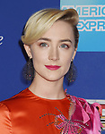PALM SPRINGS, CA - JANUARY 02: Actress Saoirse Ronan arrives at the 29th Annual Palm Springs International Film Festival Film Awards Gala at Palm Springs Convention Center on January 2, 2018 in Palm Springs, California.