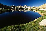 High Sierra, Giraud Peak, Dusy Basin, Kings Canyon National Park, California