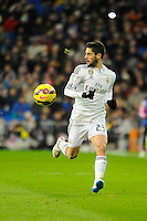 Real Madrid´s Isco during 2014-15 La Liga match between Real Madrid and Sevilla at Santiago Bernabeu stadium in Alcorcon, Madrid, Spain. February 04, 2015. (ALTERPHOTOS/Luis Fernandez) /NORTEphoto.com