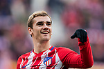 Antoine Griezmann of Atletico de Madrid prior to the La Liga 2017-18 match between Atletico de Madrid and Girona FC at Wanda Metropolitano on 20 January 2018 in Madrid, Spain. Photo by Diego Gonzalez / Power Sport Images