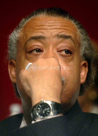 Al Sharpton attends the 10th Annual Rainbow PUSH Wall Street Project held at the Sheraton in New York, January 8, 2007. Credit: Dennis Van Tine / MediaPunch