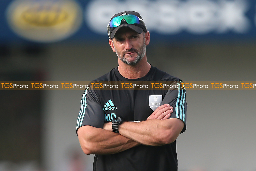Surrey head coach Michael Di Venuto during Essex Eagles vs Surrey, NatWest T20 Blast Cricket at The Cloudfm County Ground on 7th July 2017