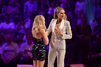 www.acepixs.com<br /> <br /> May 25 2017, Oberhausen<br /> <br /> Heidi Klum and Helene Fischer (L) take part in the Germany's Next Topmodel Final at Koenig-Pilsener-ARENA on May 25, 2017 in Oberhausen, Germany.<br /> <br /> By Line: Famous/ACE Pictures<br /> <br /> <br /> ACE Pictures Inc<br /> Tel: 6467670430<br /> Email: info@acepixs.com<br /> www.acepixs.com