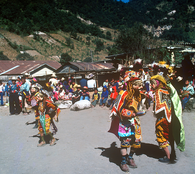 Dance of the Conquistadores, Chichicastenango, Guatemala