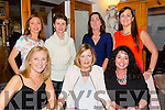Having a Ladies night out in Bella Bia on Friday night were staff of Scoil Eoin .front l-r Kayrena Bolger, Jo O'Connor,Fiona Sheehan,Siobhan Daly,Christina Slattery,Siobhan Meehan and Caroline O'Donoghue