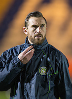 Paul Hayes of Wycombe Wanderers pre match ahead of the Sky Bet League 2 match between Colchester United and Wycombe Wanderers at the Weston Homes Community Stadium, Colchester, England on 21 February 2017. Photo by Andy Rowland / PRiME Media Images.