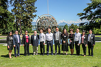 Visit in Geneva of Chinese Pediatricians