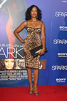 HOLLYWOOD, CA - AUGUST 16: Garcelle Beauvais at the 'Sparkle' film premiere at Grauman's Chinese Theatre on August 16, 2012 in Hollywood, California. ©mpi26/MediaPunch Inc. /NortePhoto.com<br /> <br /> **CREDITO*OBLIGATORIO** *No*Venta*A*Terceros*<br /> *No*Sale*So*third* ***No*Se*Permite*Hacer*Archivo***No*Sale*So*third*