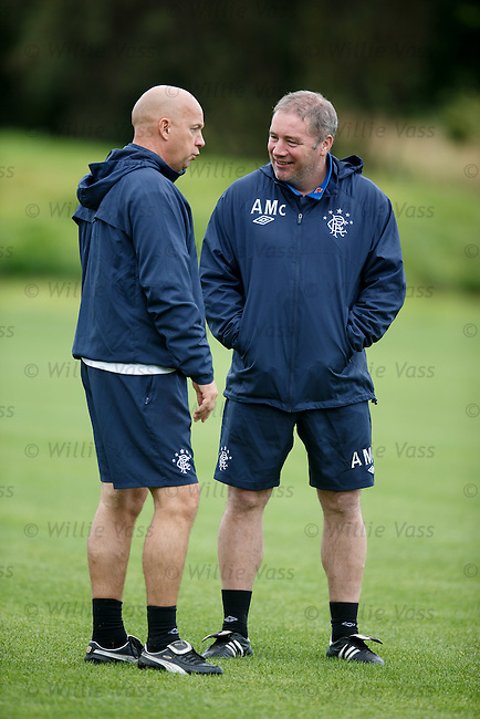 Ally McCoist and Kenny McDowall