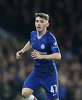 Chelsea's Billy Gilmour<br /> <br /> Photographer Rob Newell/CameraSport<br /> <br /> The Emirates FA Cup Fifth Round - Chelsea v Liverpool - Tuesday 3rd March 2020 - Stamford Bridge - London<br />  <br /> World Copyright © 2020 CameraSport. All rights reserved. 43 Linden Ave. Countesthorpe. Leicester. England. LE8 5PG - Tel: +44 (0) 116 277 4147 - admin@camerasport.com - www.camerasport.com