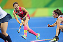 Miyuki Nakagawa (JPN), <br /> AUGUST 11, 2016 - Hockey : <br /> Women's Pool Match <br /> between Japan Women's 0-2 Great Britain Women's <br /> at Olympic Hockey Centre <br /> during the Rio 2016 Olympic Games in Rio de Janeiro, Brazil. <br /> (Photo by YUTAKA/AFLO SPORT)