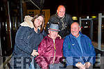 Teresa O'Sullivan, John O'Sullivan, Michael O'Sullivan and  DJ Andrew 'Scotty' O'Sullivan out on Saturday celebrating John's 60th Birthday