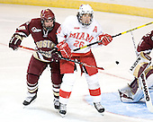 Brett Motherwell, Ryan Jones - The Boston College Eagles defeated the Miami University Redhawks 5-0 in their Northeast Regional Semi-Final matchup on Friday, March 24, 2006, at the DCU Center in Worcester, MA.