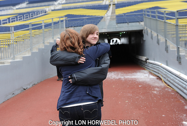 Simon family at Big House. 12-24-12