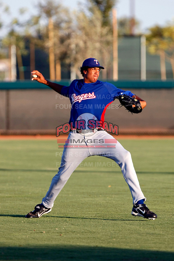 Justin Jamison ---  AZL Rangers - 2009 Arizona League.Photo by:  Bill Mitchell/Four Seam Images.