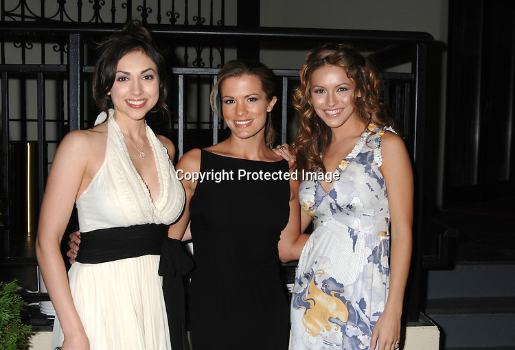 Eden Riegel, Melissa Claire Eagan and Chrishell Stause..at ABC Casino Night at Pier Sixty on October 26, 2006. ..Robin Platzer, Twin Images
