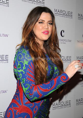 Khloe Kardashian at Kim Kardashian's 31st birthday celebration at Marquee nightclub in Las Vegas, NV. October 22, 2011 Erik Kabik / MediaPunch.