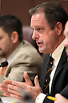 Nevada Sen. John Lee, D-North Las Vegas, speaks in committee at the Legislature in Carson City, Nev., on Friday, March 18, 2011..Photo by Cathleen Allison