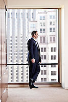 Walter Bettinger pictures: Executive portrait photography of Charles Schwab CEO Walt Bettinger, by San Francisco corporate photographer Eric Millette