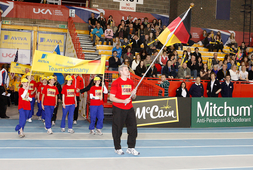 Photo: Richard Lane/Richard Lane Photography. Aviva International Match. 30/01/2010. Opening Ceremony.