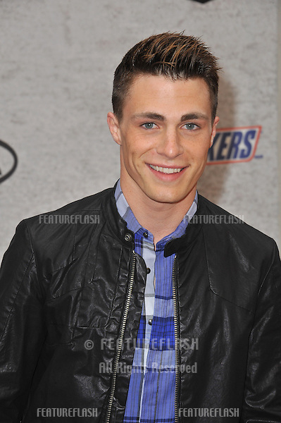 Colton Haynes at Spike TV's Guys Choice Awards 2011 at Sony Studios, Culver City, CA..June 4, 2011  Los Angeles, CA.Picture: Paul Smith / Featureflash
