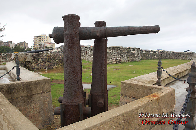 Cannon At Castillo de San Salvador de la Punta