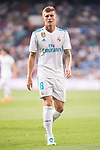 Real Madrid's Toni Kroos during XXXVIII Santiago Bernabeu Trophy at Santiago Bernabeu Stadium in Madrid, Spain August 23, 2017. (ALTERPHOTOS/Borja B.Hojas)
