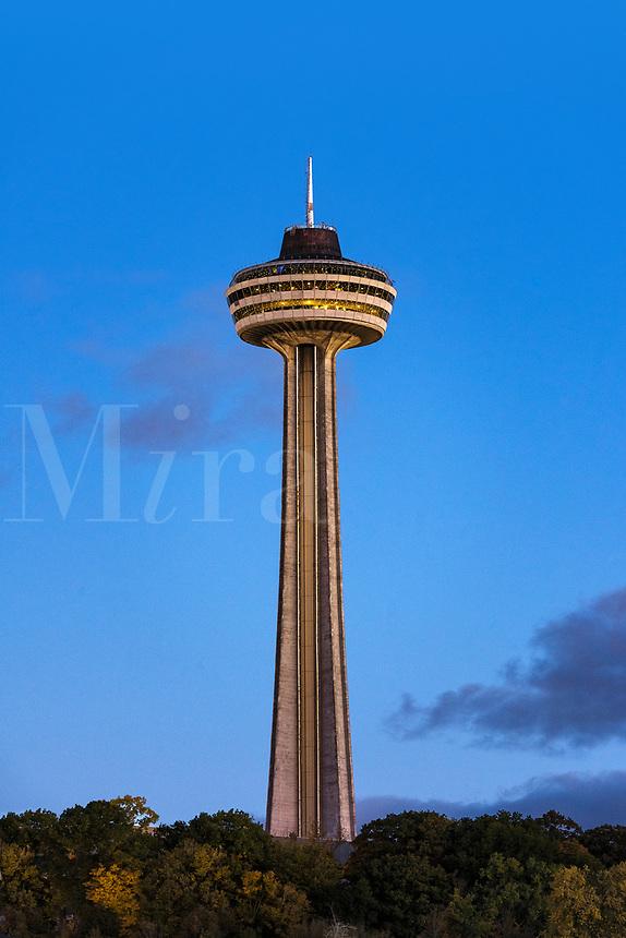 Skylon Tower, Niagara Falls, Ontario, Canada.