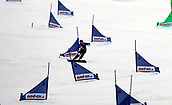 18th March 2018, Winterberg, Germany;  Snowboard World Cup, team parallel slalom. Andreas Prommegger of Austriaa as their team finishes in 2nd place in team parallel