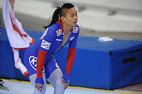 SCHAATSEN: SALT LAKE CITY: Utah Olympic Oval, 15-11-2013, Essent ISU World Cup, 500m, Ching-Yang Sung (TPE), ©foto Martin de Jong