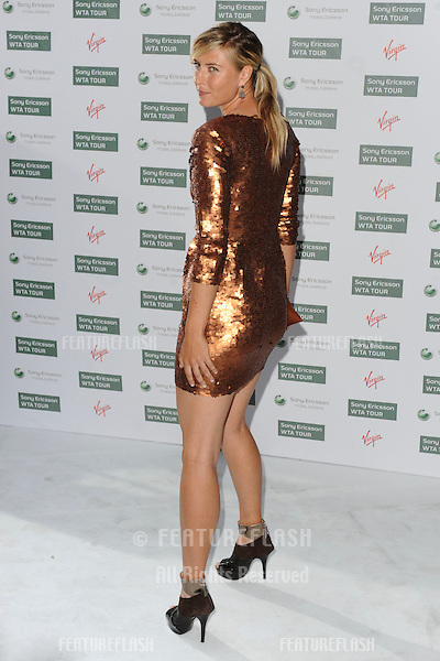 Maria Sharapova arriving for the Pre-Wimbledon Party, Kensington Roof Gardens, London. 17/06/2010  Picture by: Steve Vas / Featureflash